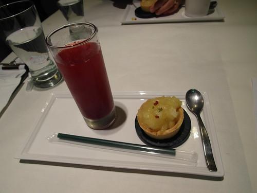 黑醋栗接骨木+香檸蘋果派 (溫)