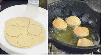 How to make puri for pani puri - Step2