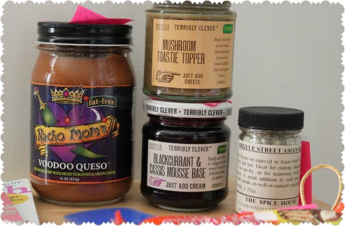 The Foodie Pen Pals package I received!