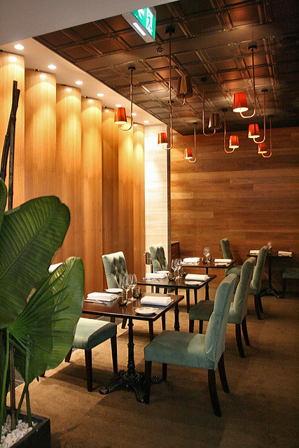 Quarter Twenty One is a modern European restaurant