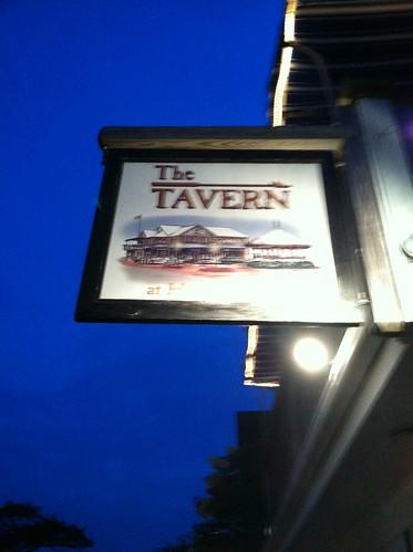 tavern nantucket sign