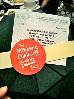 ALA 2012 Newbery-Caldecott Banquet
