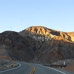 Crossing the Panamint Range, California State Route 190, Death Valley National Park