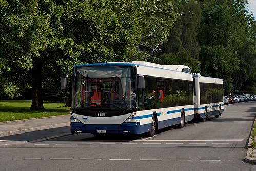 Der Hess-Buszug an der Gulbranssonstraße