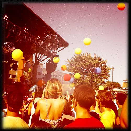 Confetti and Balloons, Flaming Lips, Handy Park, Memphis, Tenn.