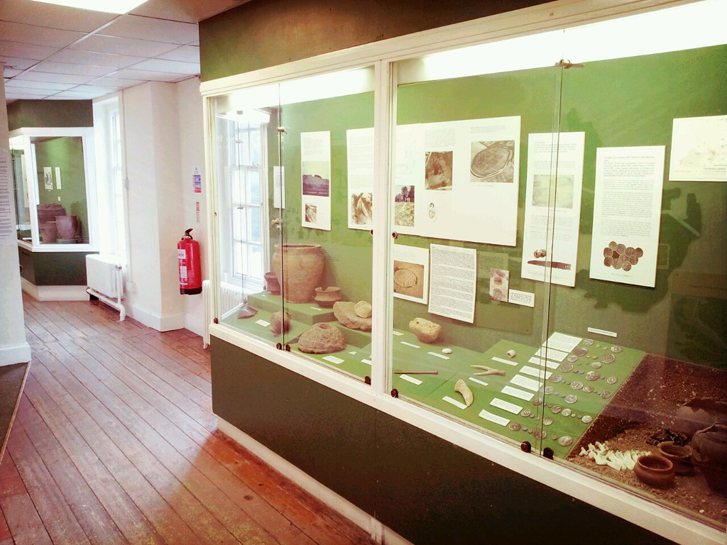 Iron Age display in Letchworth Museum