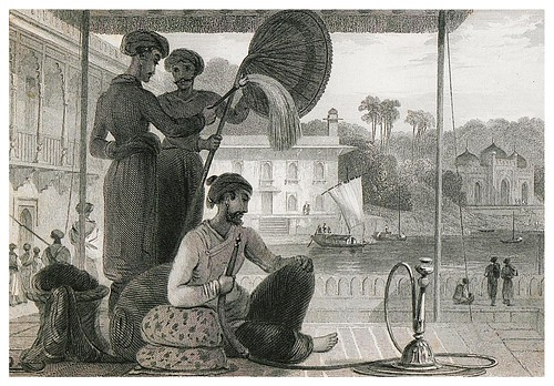 011-Un rico mahometano-The oriental annual, or scenes in India 1835-1840- William Daniell-© Universitätsbibliothek Heidelberg