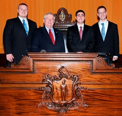 Moore introduces 2012 summer interns to State House office