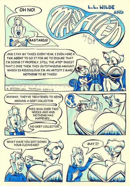 Maam Alien: Page 1/2