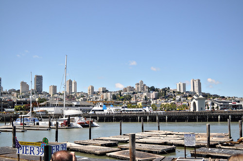 View of San Francisco from Pier 39
