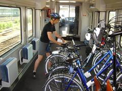 Radtransport per Bahn