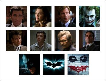 free The Dark Knight slot game symbols