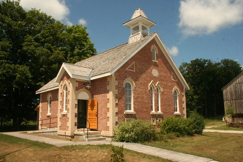 School House at Grey Roots, Owen Sound, Ontario_6884