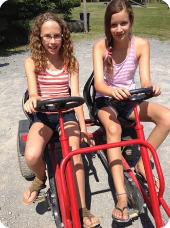 """The 'sibling bike"""""""