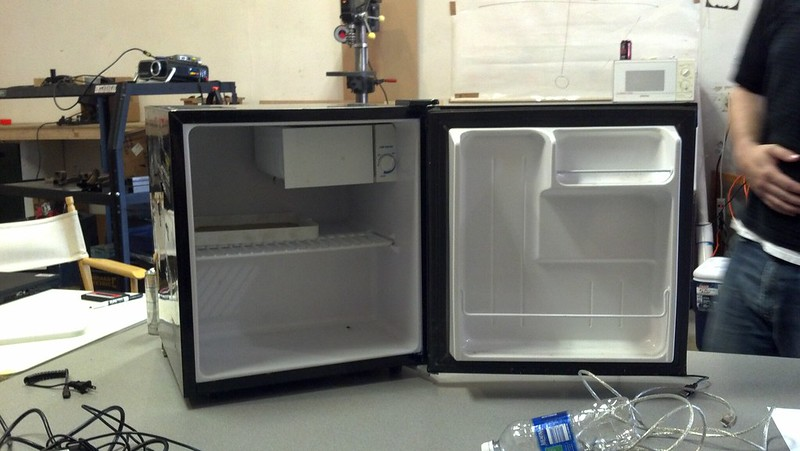 Mini-fridge pre mad science