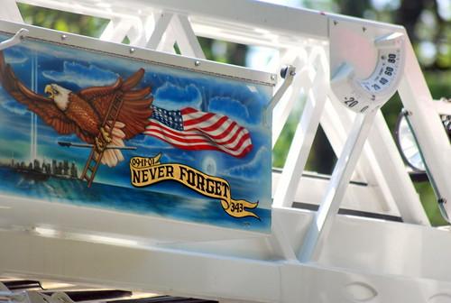 4th - fire truck art work