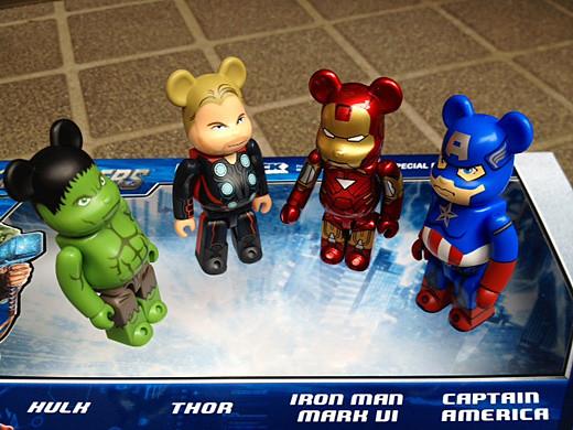 avengers bearbrick4