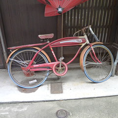 Old Bike Ajiki Roji Kyoto