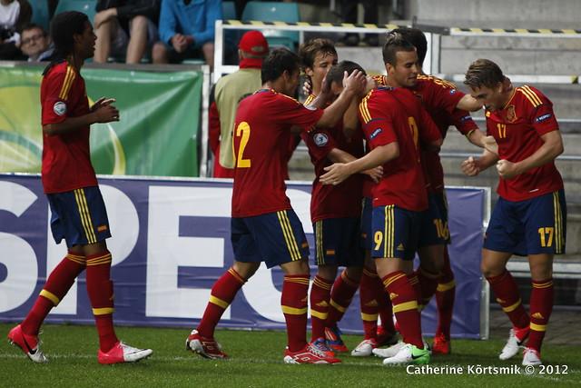U-19 Spain vs France. by Catherine Kõrtsmik, on Flickr