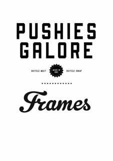 Pushies + Frames logo