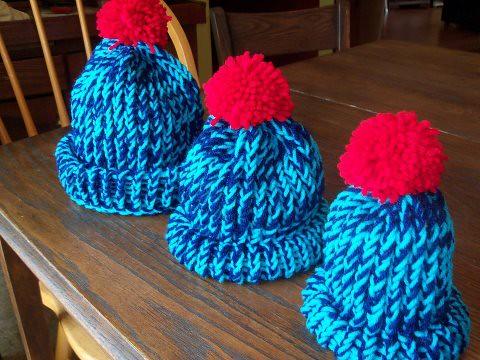 Elijah Rainbow Hats
