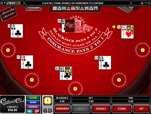 Multi-Hand Atlantic City Blackjack