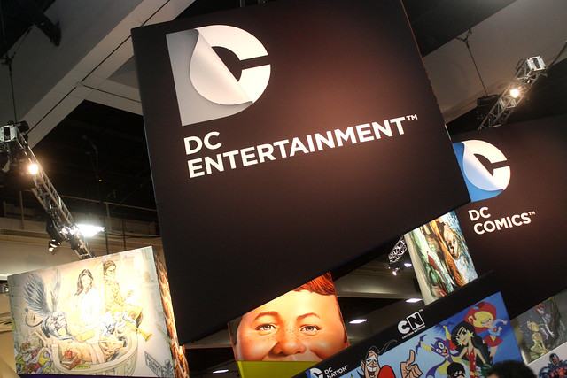 DC Entertainment booth