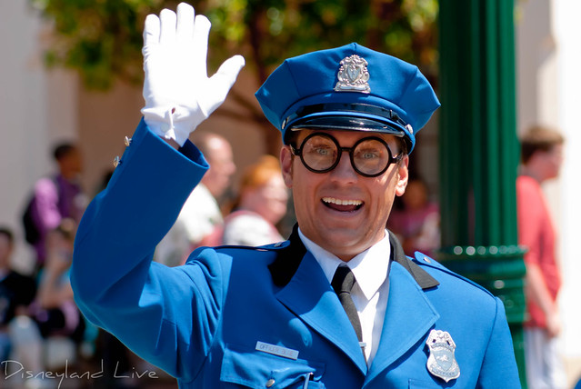 Officer Blue - Citizens of Buena Vista Street