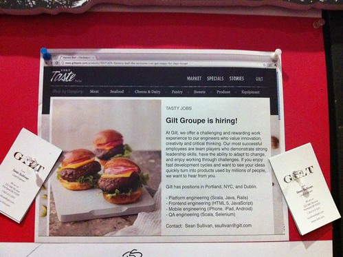 Gilt is Hiring