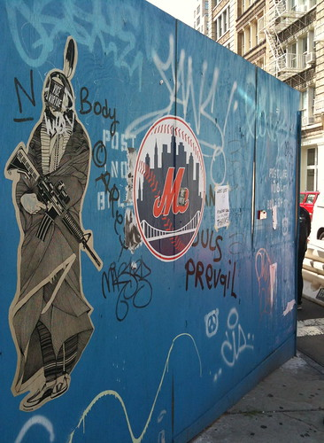 Street art, SoHo