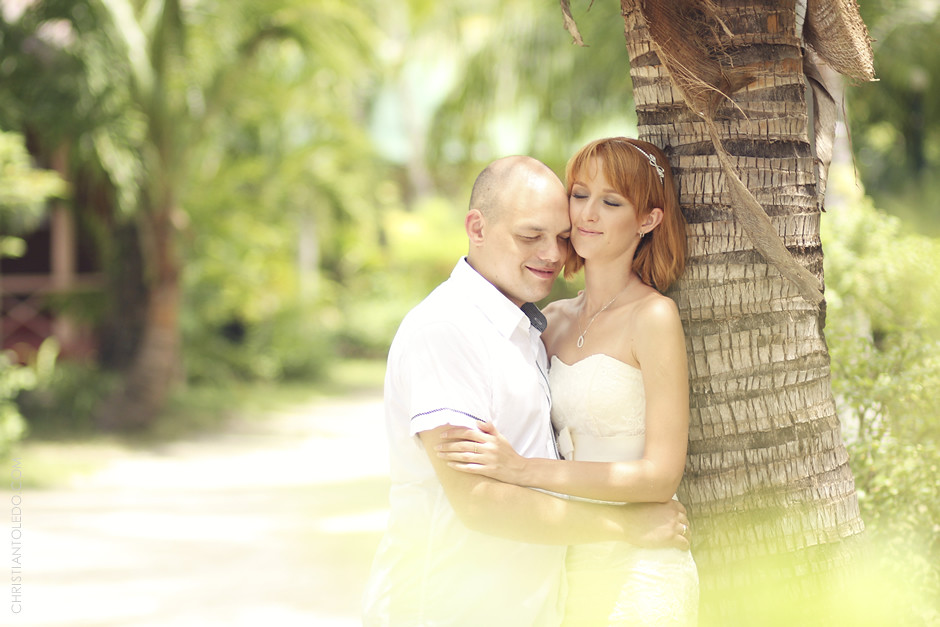Cebu Wedding Photographer, Kota Beach Post-wedding photos