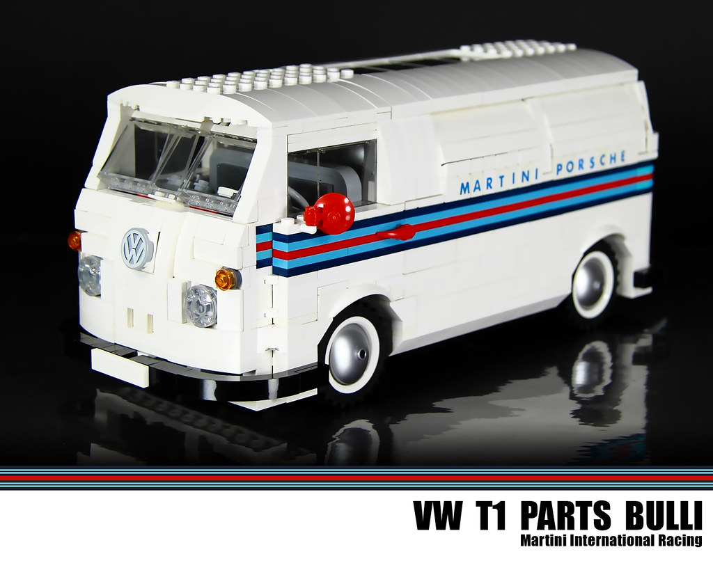 lego vw t1 parts bulli martini international racing a. Black Bedroom Furniture Sets. Home Design Ideas