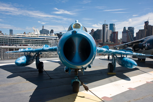 MiG, Intrepid Sea, Air, and Space Museum