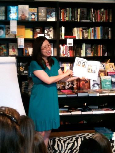 Grace Lin reading from Ling and Ting