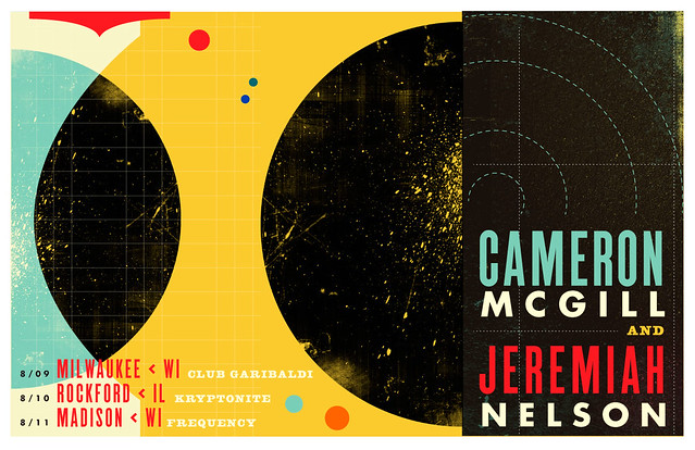 Cameron McGill & Jeremiah Nelson Gig Poster