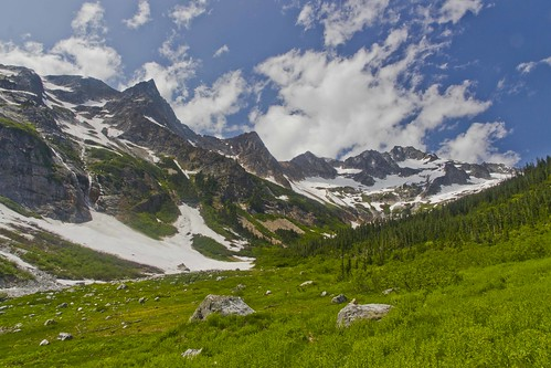North Fork Meadows, North Cascades National Park
