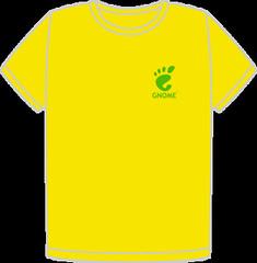 GUADEC-ES 2010 Brazil T-Shirt Front