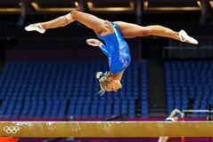 floor gymnastics(0.0), amateur wrestling(0.0), uneven bars(0.0), rings(0.0), balance beam(1.0), individual sports(1.0), sports(1.0), gymnastics(1.0), gymnast(1.0), artistic gymnastics(1.0),