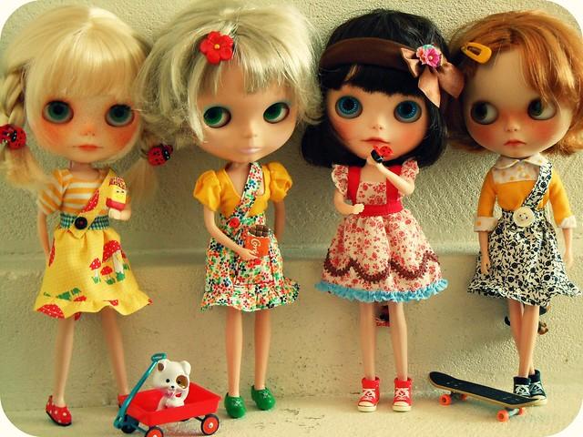 Summer time girls ...