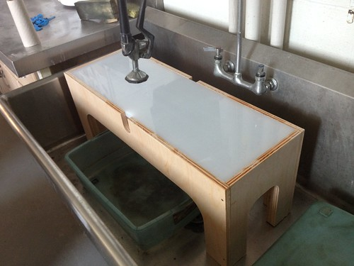 New sink insert