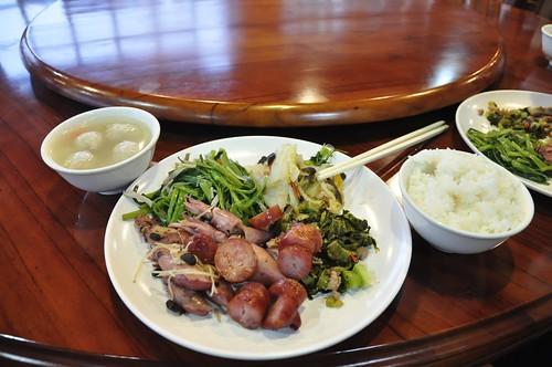 翠峰山莊-晚餐