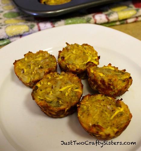 Zucchini-Potato Bites