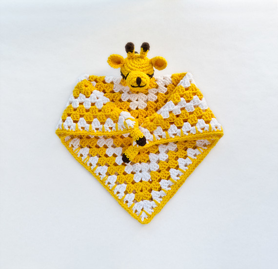 Crochet Pattern Giraffe Blanket : Giraffe Security Blanket Crochet Pattern Flickr - Photo ...