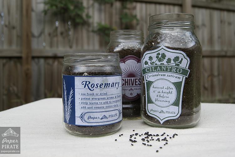 Herb Garden Jars - Step 5