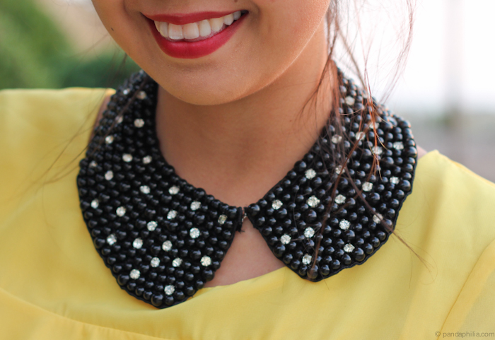 detachable peter pan collar