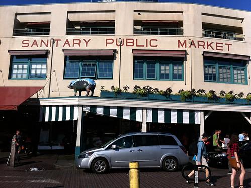 Pike Place Market - Sanitary Public Market