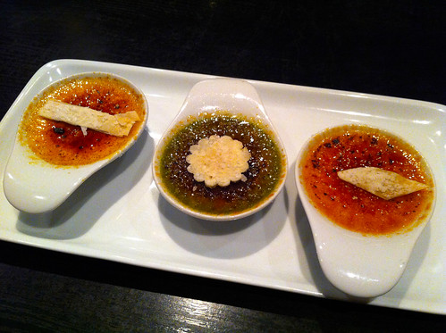 Norwegian Pearl - Lotus Garden - Flight of Creme Brulee