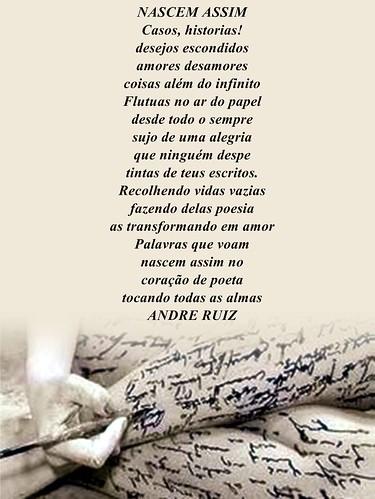 NASCEM ASSIM by amigos do poeta