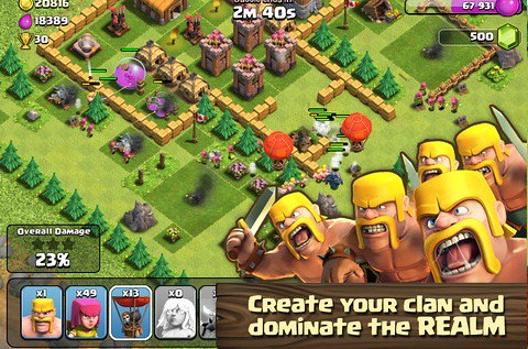 Clash of Clans Top Player