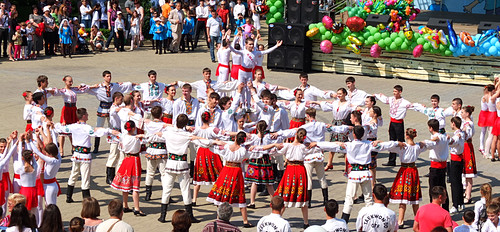 International Children's Day Celebrations in Chisinau, Moldova